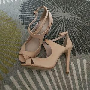 Zara nude heels size 38